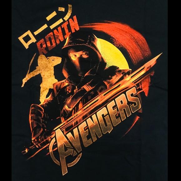 Marvel Comics T Shirt The Avengers Endgame Ronin  Hawkeye Cotton Mens XL